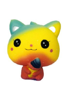 Medska Squishy Sevimli Kedi Sukuşi 10 cm