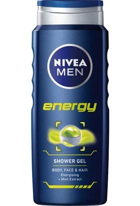 Nivea Duş Jeli 500 ml Men Energy 6'lı Paket