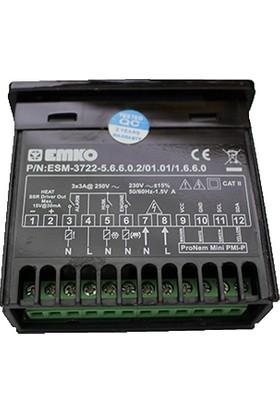 Wd Emko Esm-3722 Ssr Çıkışlı Kuluçka Kontrol Cihazı Isı Ve Nem Sensörü Dahil