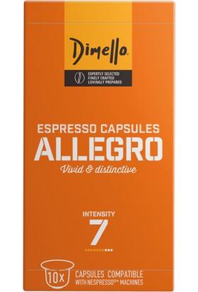 Dimello Allegro Nespresso® Uyumlu Kapsül