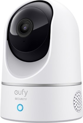 Anker Eufy Security 360 Derece Dönebilen Kızılötesi Gece Görüşlü IP Kamera - 2K HD Çözünürlük - T8410