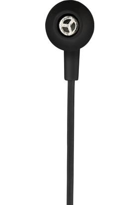 MF Product Acoustic 0087 Mikrofonlu Kablolu Kulak İçi Kulaklık Siyah