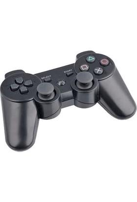 Double PS3 Doubleshock Uyumlu Kablosuz Analog Oyun Kolu