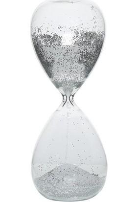 Vitale Gümüş Cam Kum Saati
