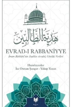 Evrad-I Rabbaniyye - Yakup Yazan
