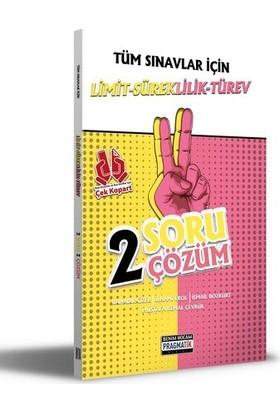 Benim Hocam 2021 Tüm Sınavlar İçin Limit-Süreklilik-Türev 2 Soru 2 Çözüm Fasikülü