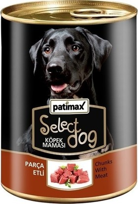 Patimax Parça Etli Köpek Konservesi 400 gr x 12 Adet