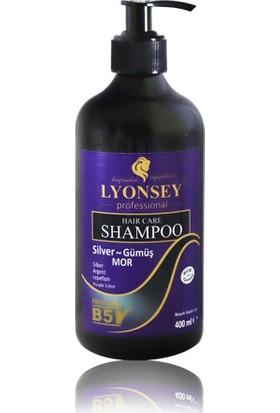 Lyonsey Silver Mor Şampuan 400 ml + Norman Saç Açıcı