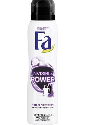 Fa Invisible Power Sprey Deodorant 150 ml Kadın
