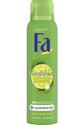 Fa Caribbean Lemon Sprey Deodorant 150 ml Kadın