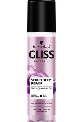 Gliss Serum Deep Repair Sıvı Saç Kremi 200 ml