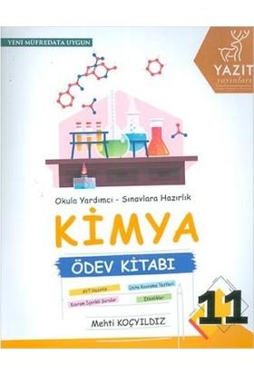 Yazıt 11.Sınıf Kimya Ödev Kitabı - Mehti Koçyıldız