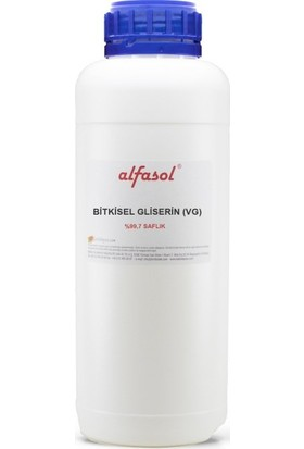 Alfasol Bitkisel Gliserin (E422) 1 kg