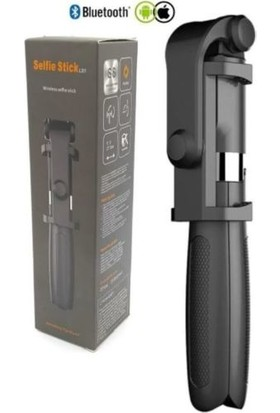 QSF Bluetooth Kumandalı Kablosuz Selfie Çubuğu SELF-L01
