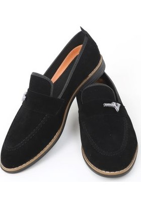 Suna Siyah Süet Erkek Ayakkabı