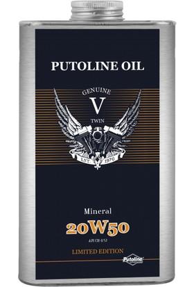 Putoline Genuıne V -Twın Mıneral 20W-50 Motor Yağı 1 lt