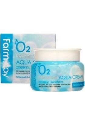 Farmstay Oksijen Premium Aqua - Elastikiyet ve Anında Etkili Yoğun Nemlendirici Krem