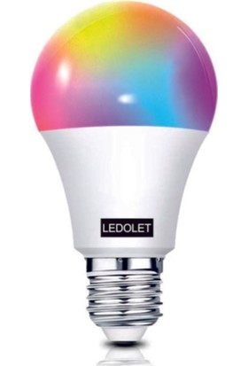 Ledolet Wifi Akıllı Smart LED Ampul 9 W