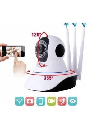 Mobitell 360° Wi-Fi Ev Ofis Full Hd Güvenlik Kamerası