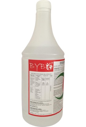 Bybio Organik Konsantre Ev Oto ve Ortam Dezenfektanı 1 lt