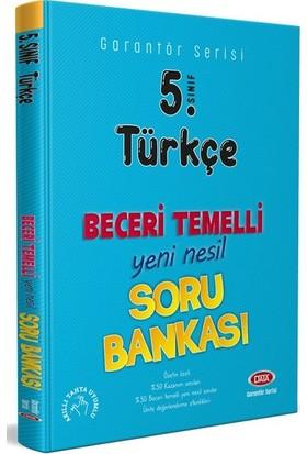 Data 5. Sınıf Türkçe Beceri Temelli Soru Bankası