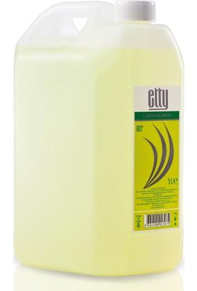 Etty 80 Derece Limon Kolonyası Pet Bidon 5 lt