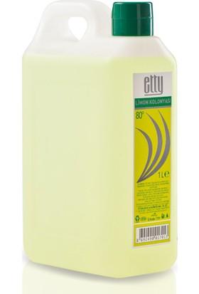 Etty 80 Derece Limon Kolonyası Pet Bidon 1 lt