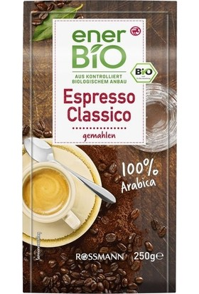 Enerbio Espresso Classico Kavrulmuş Kahve 250 gr