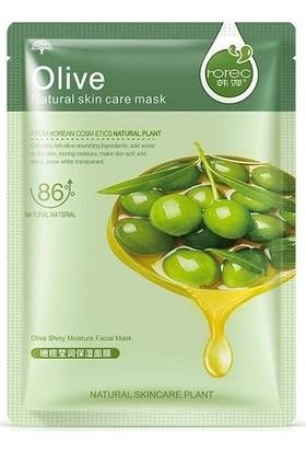 Olive Kolajen Maske Yeşil Zeytin Özlü