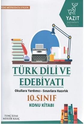 Yazıt 10.Sınıf Türk Dili Ve Edebiyat Konu Kitabı