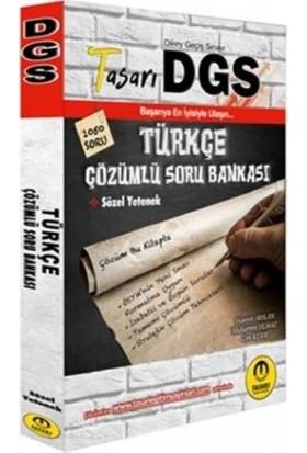 Tasarı DGS Türkçe Çözümlü Soru Bankası 2020