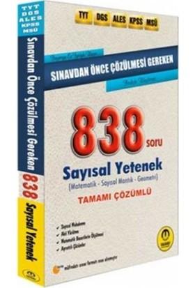 Tasarı Sınavdan Önce Çözülmesi Gereken Tamamı Çözümlü Sayısal 838 Soru