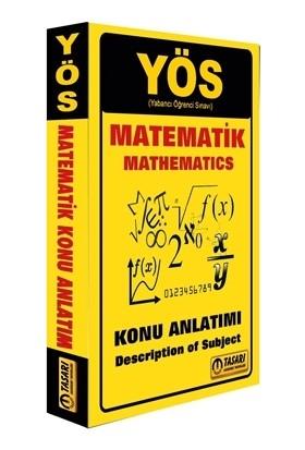 Tasarı YÖS Matematik Konu Anlatımı