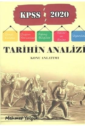 Kpss 2020 Tarihin Analizi Konu Anlatımı - Mehmet Yalçın