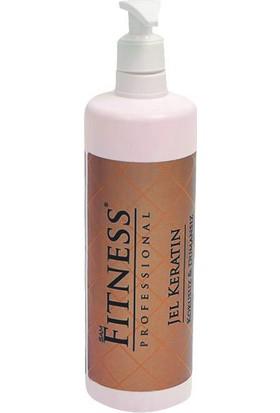 Sam Fitness Professional Saç Düzleştirici Jel Keratin Bakımı 750 ml + Sülfatsız Devam Şampuanı 500 ml