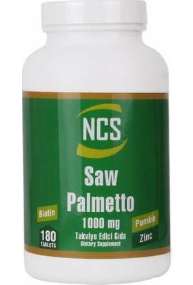 Ncs Saw Palmetto 1000MG 180 Tablet + Hap Kutusu