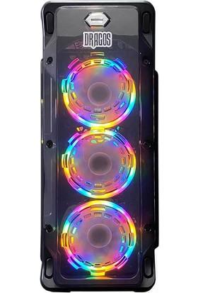 Dragos ATM9919055 Ryzen7 3700x 16GB Ram 240GB Ssd 6GB GTX1660 Ekran Kartı Gaming Bilgisayar