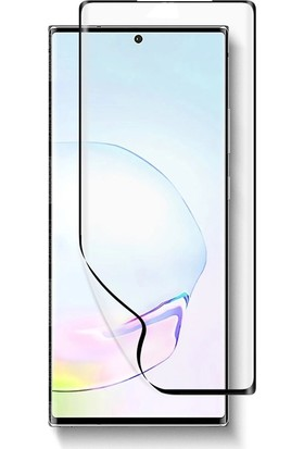 Gpack Samsung Galaxy Note 20 Full Kapatan Fiber Nano Ekran Koruma Siyah