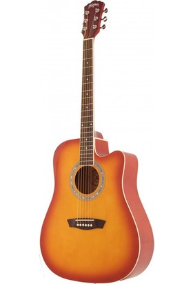 Washburn WA90CTS Akustik Gitar + (Kılıf Pena )