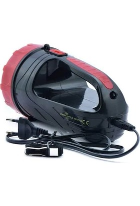 Atasbey PS-7765 3W Şarjlı El Feneri Projektör