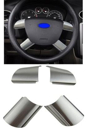 Cabu Ford Focus Connect Direksiyon Krom Nikelajı 4'lü Set