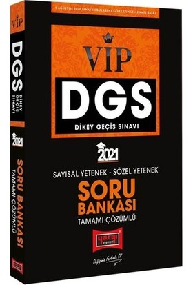 Yargı Yayınevi DGS VIP Sayısal Sözel Yetenek Tamamı Çözümlü Soru Bankası