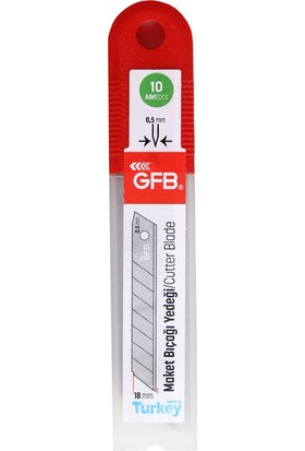 Gfb Maket Bıçağı ve 100 Lü Falçata Yedeği Seti