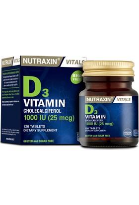 Vitamin D3 1000 Iu 120 Tablet
