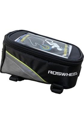 Roswheel 2020 6 Inç Telefon Uyumlu Kadro Üstü Bisiklet Çanta