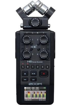 Zoom H6 Ses Kayıt Cihazı (Siyah)