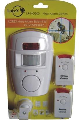 Lorex LR-NG300 Hareket Sensörlü Uzaktan Kumandalı Alarm Seti