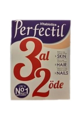 Vitabiotics Perfectil 3 Al 2 Öde 3 x 30 Tablet(90 Adet)
