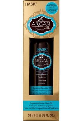 Hask Argan Onarıcı Saç Bakım Yağı 59ml