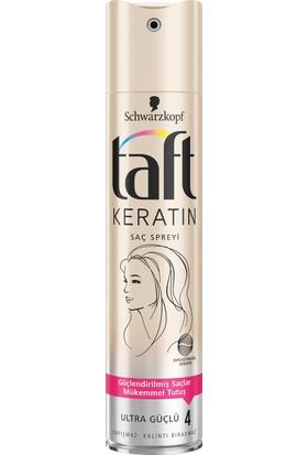 Taft Keratin Ultra Güçlü Saç Spreyi 250 ml